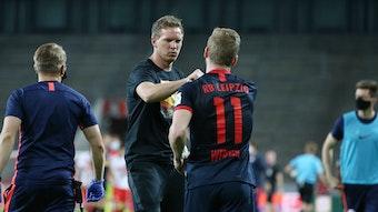 Julian Nagelsmann soll Timo Werner nicht vergessen habenb.