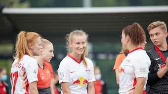 Die Frauen von RB gewannen den Test gegen Viktoria Berlin in der zweiten Hälfte. (Symbolbild)