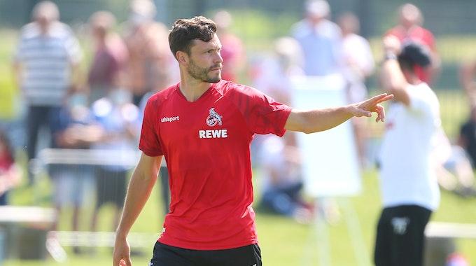 Jonas Hector trainiert beim 1. FC Köln.