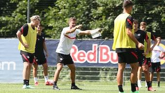 Alles neu unter Marsch? Leipzigs Trainer bringt den RB-Profis seine Ideen näher
