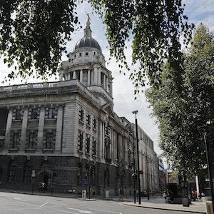 Unser Symbolfoto zeigt das Londoner Gerichtsgebäude Old Bailey am 8. August 2019.