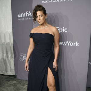 Ashley Graham kommt im Februar 2018 im Rahmen der New York Fashion Week zur amfAR Gala in der Cipriani Wall Street.