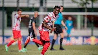 Noah Ohio wird künftig für FK Austria Wien auf Torejagd gehen.
