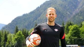 RB-Keeper Peter Gulacsi im Trainingslager in Saalfelden.