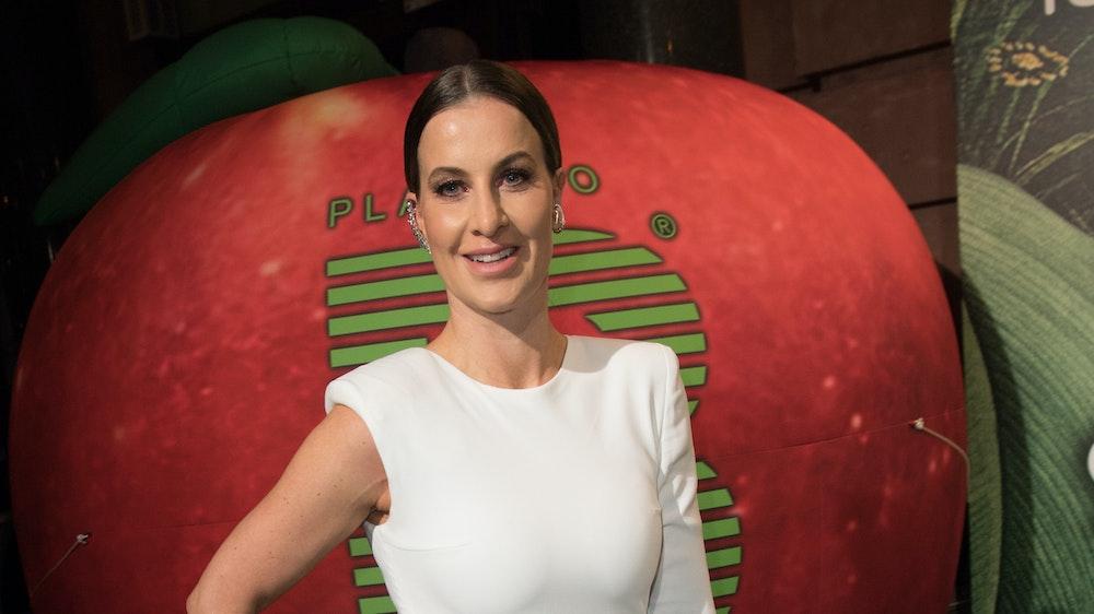 Charlotte Würdig kommt im Februar 2020 zur Place to be Berlinale-Party ins Restaurant Borchardt.