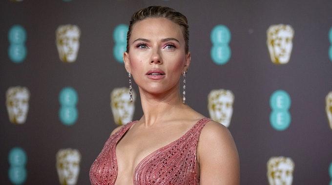 Scarlett kommt am 2.2.2020 zu den Bafta Film Awards in London.