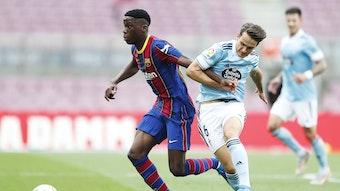 Ilaix Moriba hat mit dem FC Barcelona noch nicht verlängert, RB Leipzig gilt als interessiert.