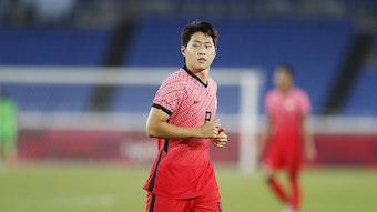 Kang-in Lee soll angeblich bei RB Leipzig auf dem Zettel stehen.