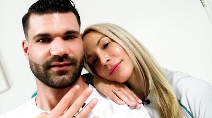 """Mike Cees-Monballijn und Michelle Monballijn. Das paar nimmt am """"Sommerhaus der Stars"""" 2021 teil. Das Foto wurde EXPRESS von Mike Cees zur Berichterstattung honorarfrei zur Verfügung gestellt"""