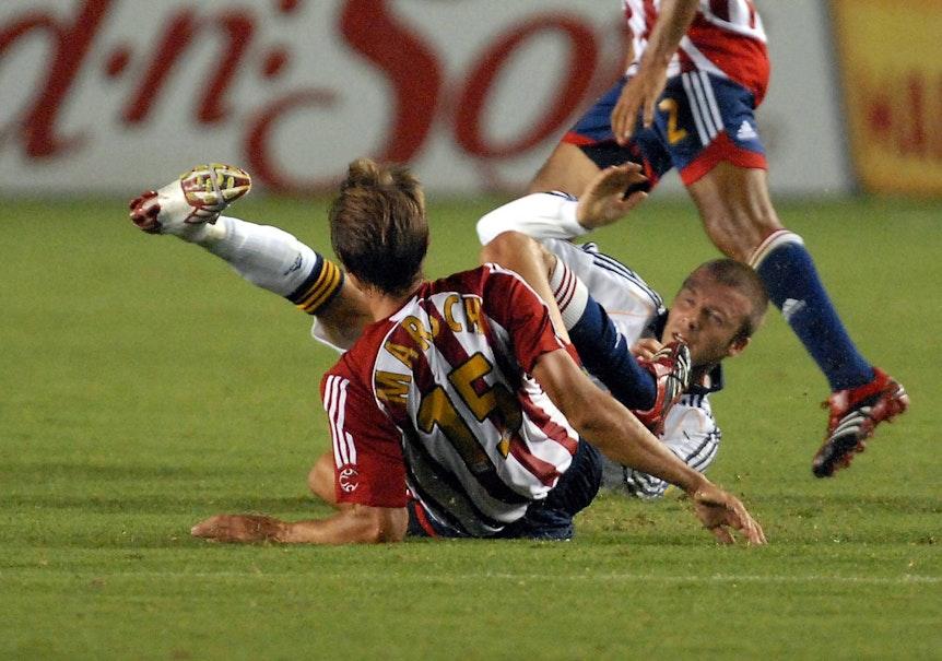 Jesse Marsch stritt sich einst mit David Beckham.