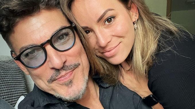 Chris Töpperwien am 3. August 2021 mit seiner Freundin Nicole. Das Foto wurde EXPRESS.de von Chris Töpperwien zur Berichterstattung honorarfrei zur Verfügung gestellt.