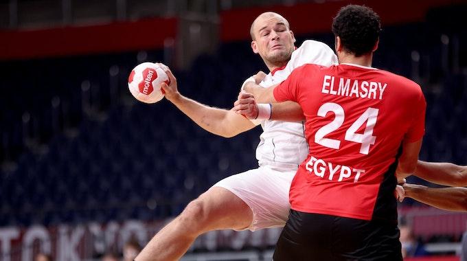 Deutschland kämpft um den Einzug ins Olympia-Halbfinale.