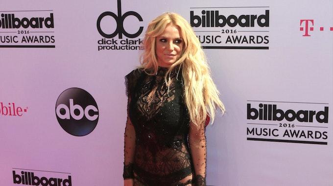 Britney Spears bei den Music Awards 2016.