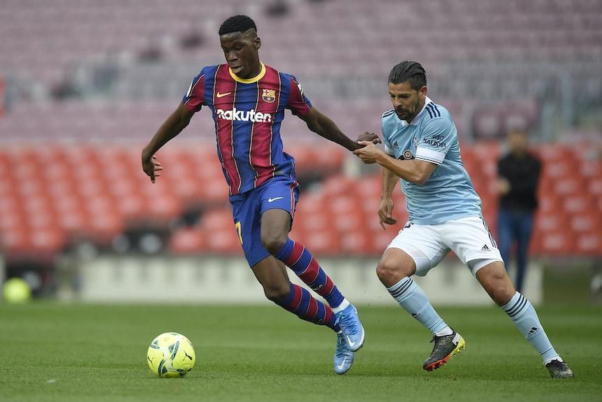 Ilaix Moriba soll Barcelona verlassen dürfen, wenn ein anderes Angebot vorliegt.