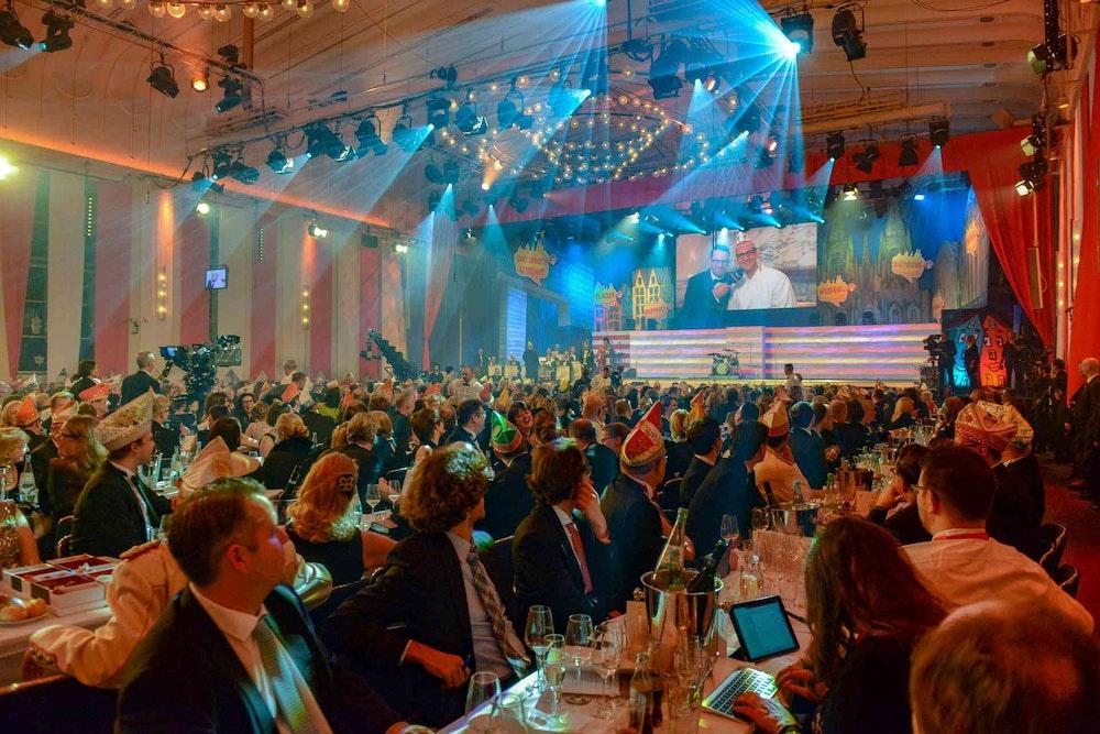 Der Kölner Gürzenich gilt als gute Stube des Kölner Karnevals.