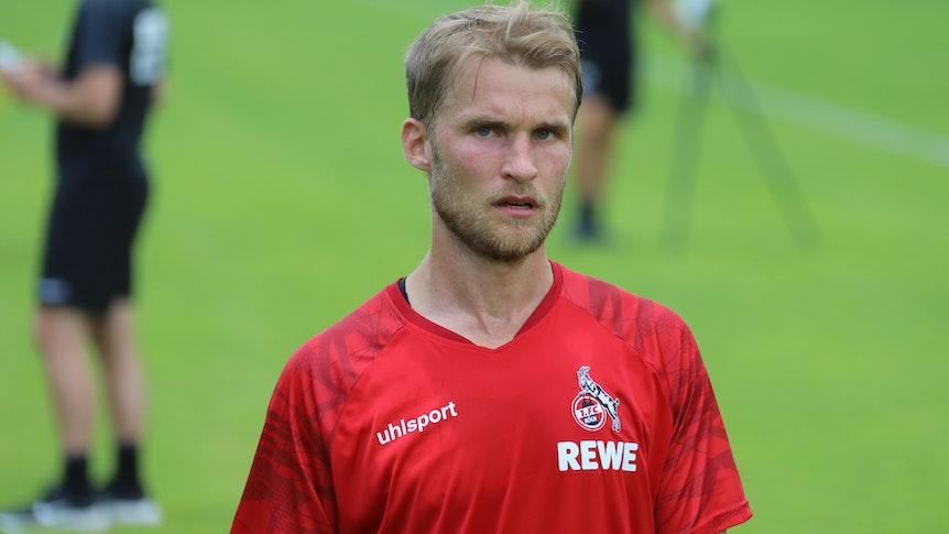 Sebastian Andersson beim Training des 1. FC Köln.