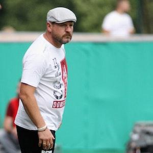 Steffen Baumgart ist mit dem 1. FC Köln bei Carl Zeiss Jena zu Gast.