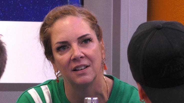 """Danni Büchner schmachtet nach einem fatalen Kommentar nicht mehr bei """"Promi Big Brother"""": Pascal Kappés hat das Falsche gesagt."""