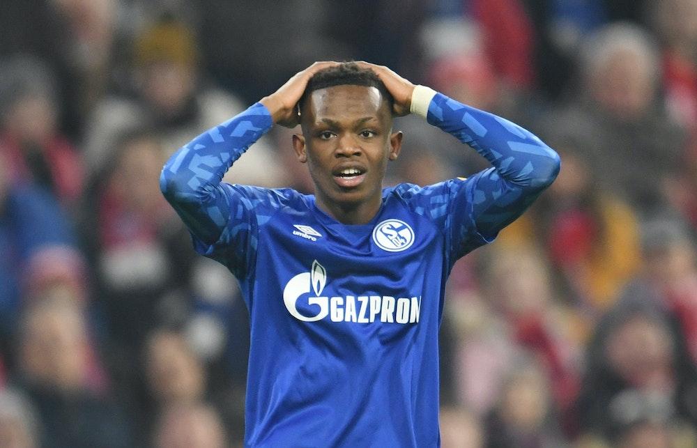 Rabbi Matondo von Schalke akan tetap memimpin pada pertandingan Bundesliga pada 25 Januari 2020 di Bayern Munich.
