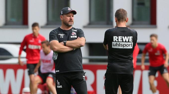 Steffen Baugart trainiert den 1. FC Köln.
