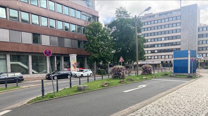 Die Dortmunder Kampstraße in der Nähe des Hauptbahnhofs.