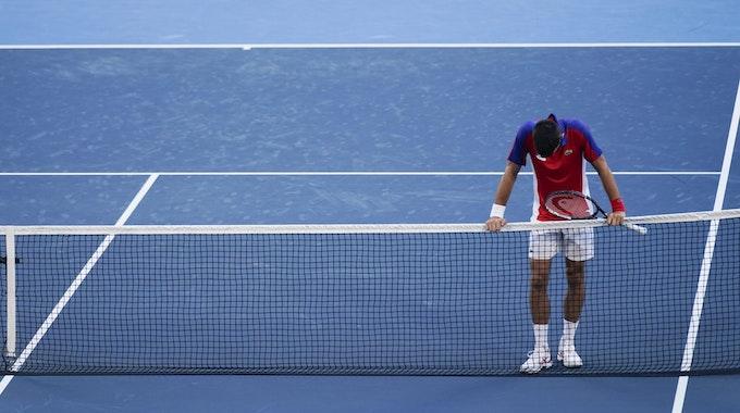 Novak Djokovic nimmt nach den Olympischen Spielen erstmal eine Auszeit und sagt den Turnierstart in Cincinnati ab.