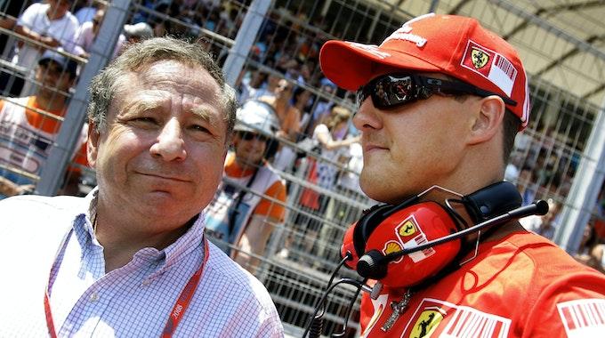 Jean Todt hält nach Michael Schumachers Ski-Unfall immer noch engen Kontakt zu dessen Familie. Jetzt sprach Todt über Schumis Gesundheitszustand.