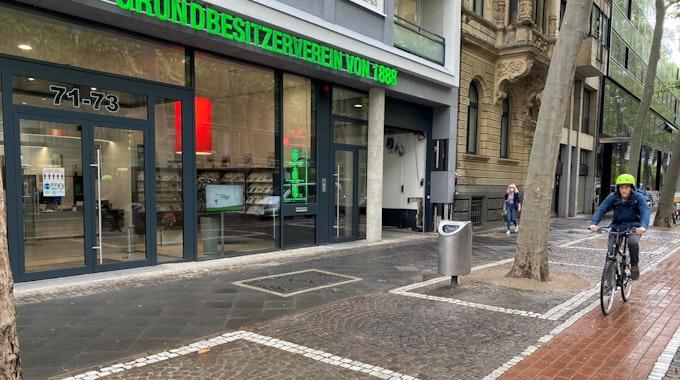 Die Zentrale des Kölner Haus- und Grundbesitzervereins am Hohenzollernring.