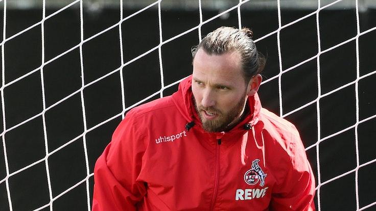 Marco Höger im Training des 1. FC Köln.