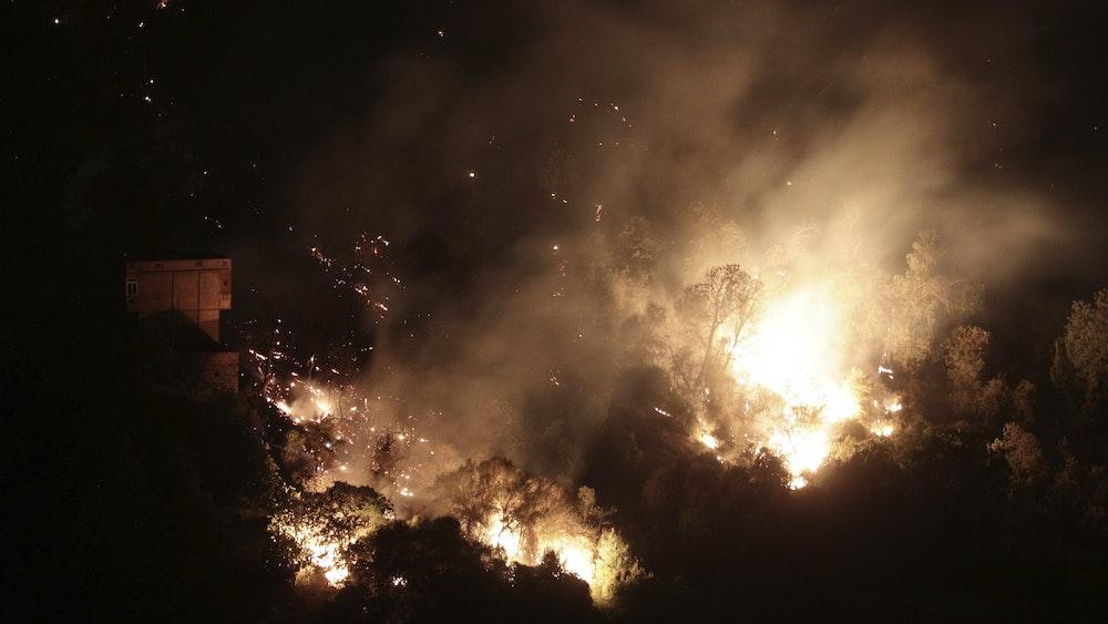 August 2021 brach im Wald von Arba Nath Erathin (Algerien) ein schwerer Waldbrand aus.  Innenminister Kamal Beljoud machte die Brandstifter verantwortlich.  Mindestens sechs Menschen kamen bei dem Feuer ums Leben.
