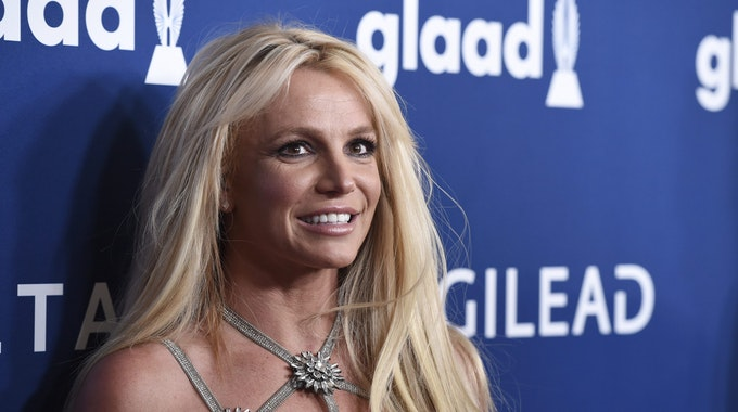 Beverly Hills: Britney Spears kommt bei den 29. GLAAD Media Awards an.