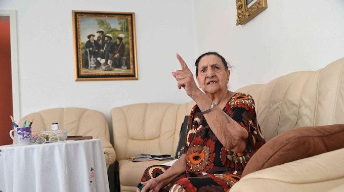 Philomena Franz erzählt ihre Geschichte aus dem KZ in Auschwitz.