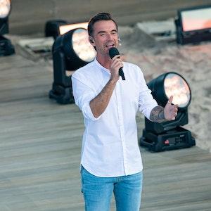 Florian Silbereisen (hier am 14. August in Gelsenkirchen) hat für seine 'Schlagerfest XXL Tour' eine Absage von Giovanni Zarella bekommen.