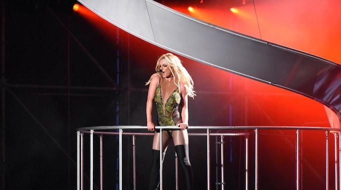 Die US-Musikerin Britney Spears gibt am 13.06.2017 in Taipeh (Taiwan) ein Konzert.