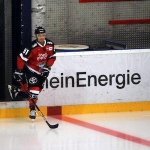 Moritz Müller trainiert bei den Kölner Haien.