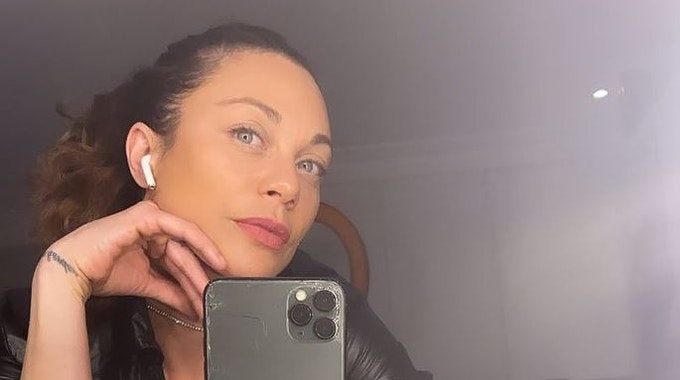 Lilly Becker auf einem Instagram-Selfie vom 26. April 2021