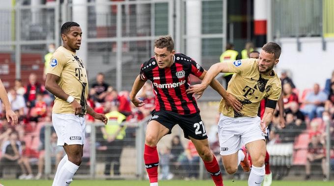 Florian Wirtz im Testspiel von Bayer 04 Leverkusen gegen den FC Utrecht.