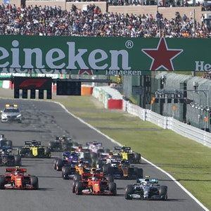 Die Formel 1 in Japan