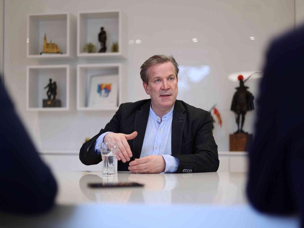 Festkomitee-Präsident Christoph Kuckelkorn argumentiert im Interview.
