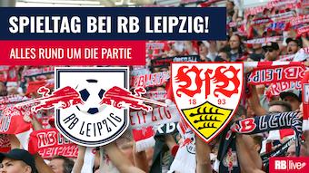RB Leipzig empfängt den VfB Stuttgart.