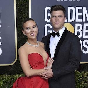 Scarlett Johansson und Colin Jost, hier bei der 77. Golden Globe Verleihung, sind Eltern geworden.