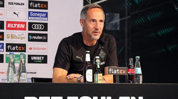 Leverkusen gegen Gladbach: Die Pressekonferenz der Fohlen zum Nachlesen im Ticker