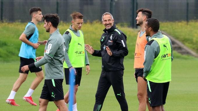 Hütter hat die Qual der Wahl: So sieht Borussias Personallage vor dem Top-Spiel in Leverkusen aus