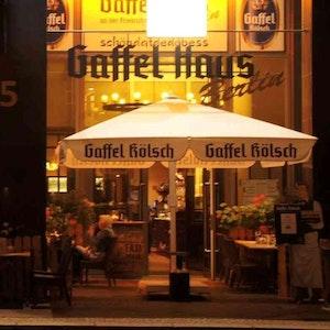 Kölsch im Gaffel-Haus an der Friedrichstraße