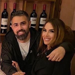 Anna-Maria Ferchichi, hier mit ihrem Mann Bushido, gibt auf Instagram ein Baby-Update.