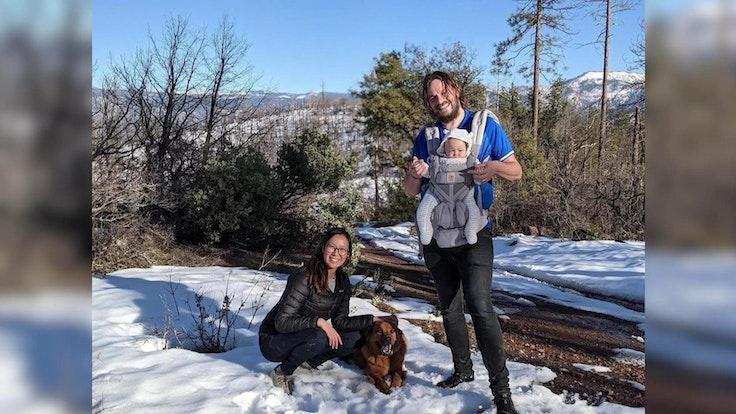 Jonathan Gerrish und Ellen Chung starben mit ihrer Tochter Miju und dem Familienhund bei einer Wanderung im Yosemite Nationalpark. Fotocredits: Courtesy Steve Jeffe/CNN