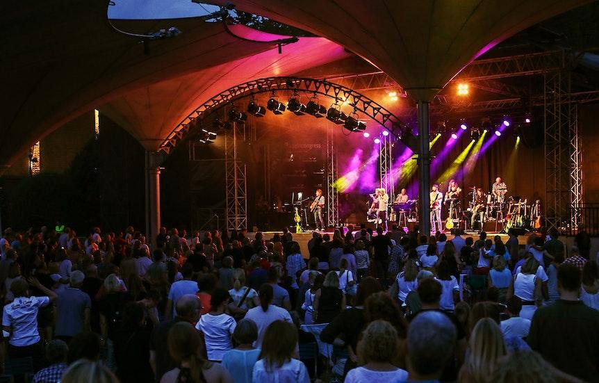 45. Open-Air Konzert der Bläck Fööss am 21.08.2021 am Tanzbrunnen.