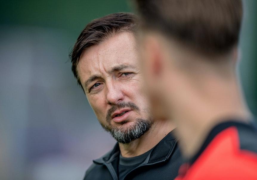 Daniel Meyer konnte mit dem Remis von RB Leipzigs U19 gegen St. Pauli nicht zufrieden sein. (Symbolfoto)
