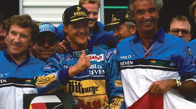 November 1994: Michael Schumacher wird Formel-1-Weltmeister.