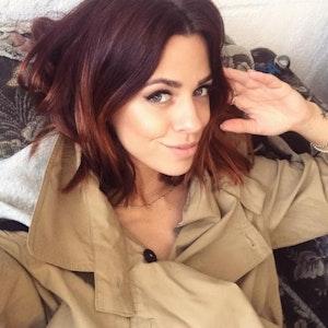 Das Selfie zeigt Vanessa Mai (hochgelade am 16. September 2017 auf Instagram).